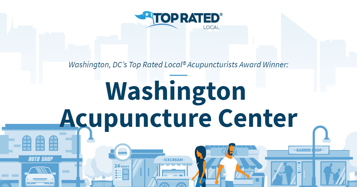 Washington, DC's Top Rated Local® Acupuncturists Award Winner: Washington Acupuncture Center