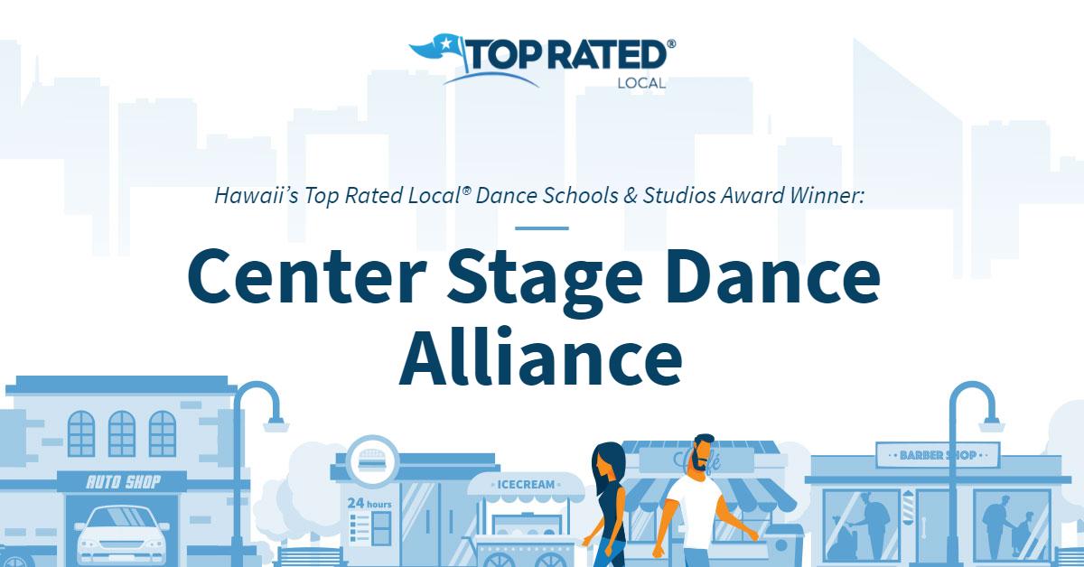Hawaii's Top Rated Local® Dance Schools & Studios Award Winner: Center Stage Dance Alliance