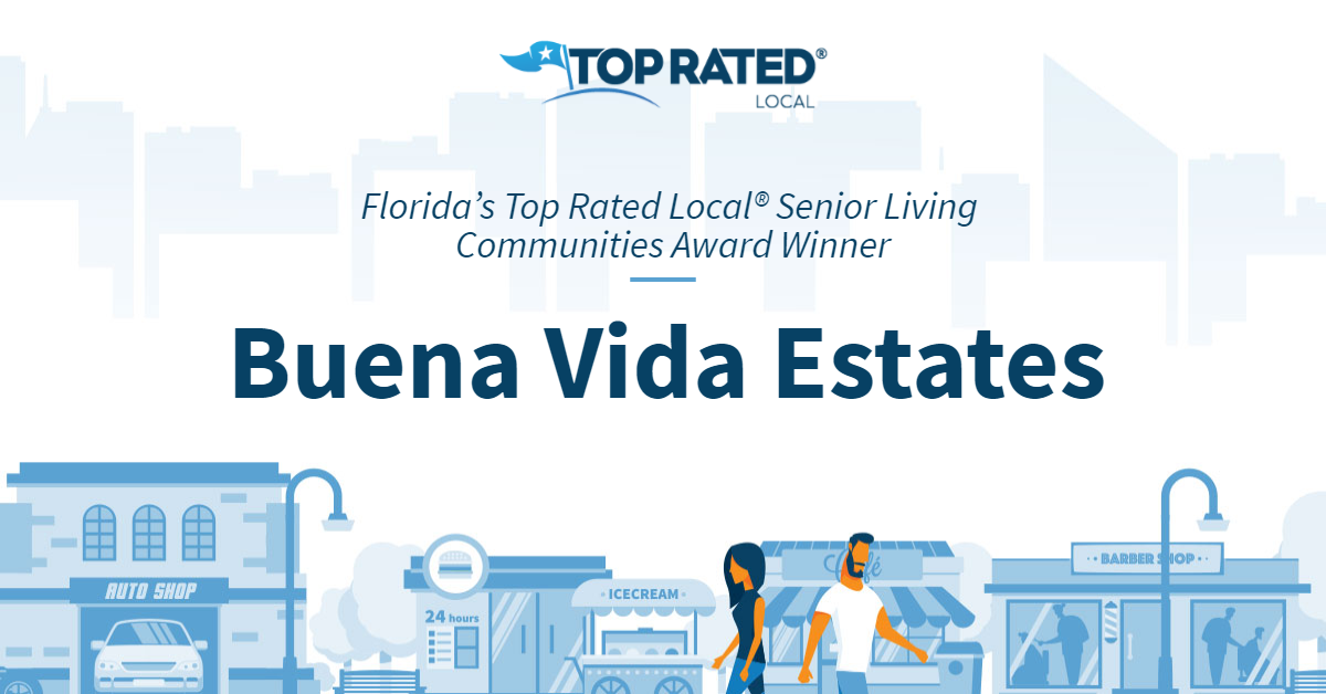 Florida's Top Rated Local® Senior Living Communities Award Winner: Buena Vida Estates