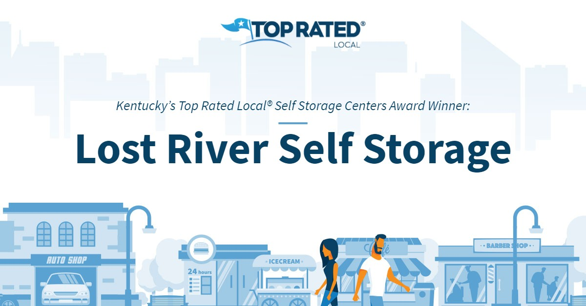 Kentucky's Top Rated Local® Self Storage Centers Award Winner: Lost River Self Storage