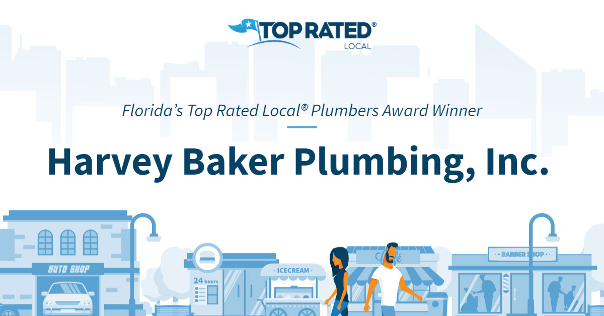 Florida's Top Rated Local® Plumbers Award Winner: Harvey Baker Plumbing, Inc.