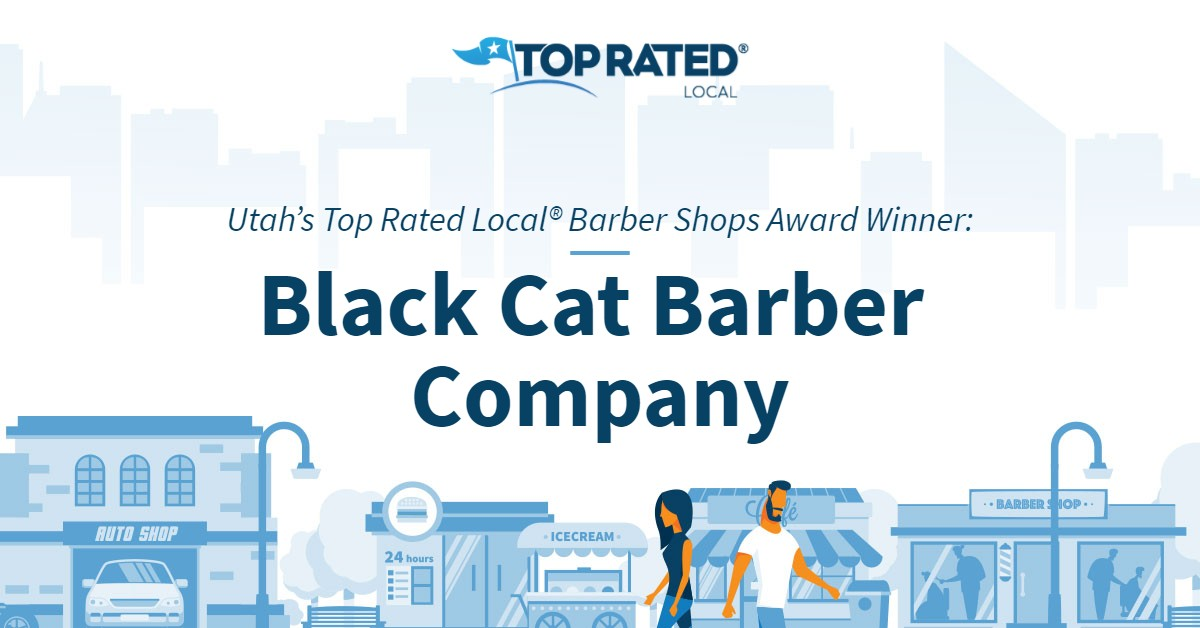 Utah's Top Rated Local® Barber Shops Award Winner: Black Cat Barber Company