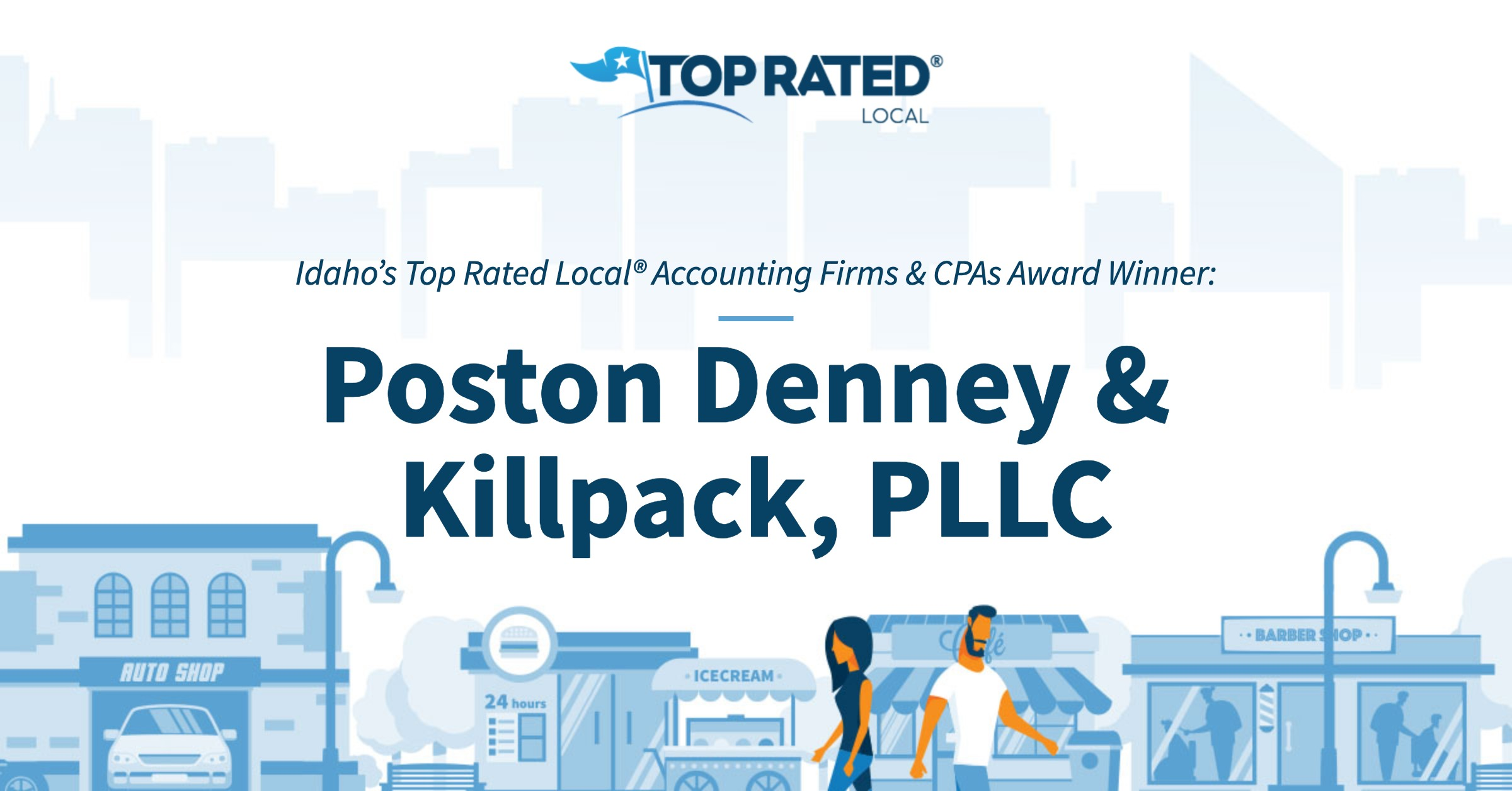 Idaho's Top Rated Local® Accounting Firms & CPAs Award Winner: Poston Denney & Killpack, PLLC