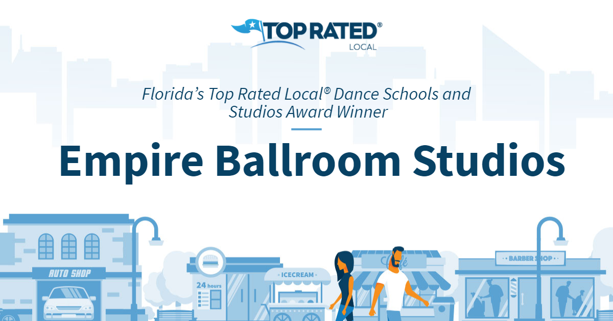 Florida's Top Rated Local® Dance Schools and Studios Award Winner: Empire Ballroom Studios