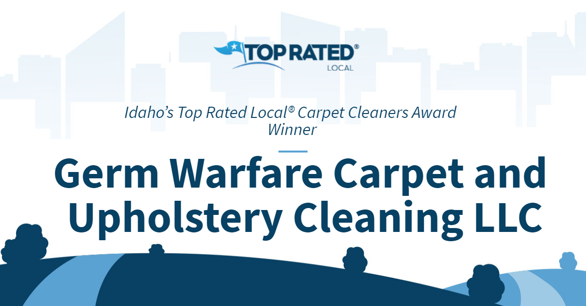 Idaho's Top Rated Local® Carpet Cleaners Award Winner: Germ Warfare Carpet and Upholstery Cleaning LLC