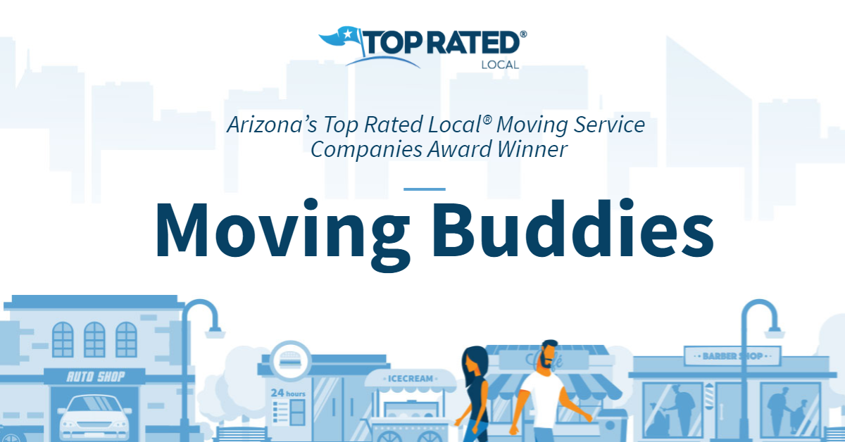 Arizona's Top Rated Local® Moving Service Companies Award Winner: Moving Buddies
