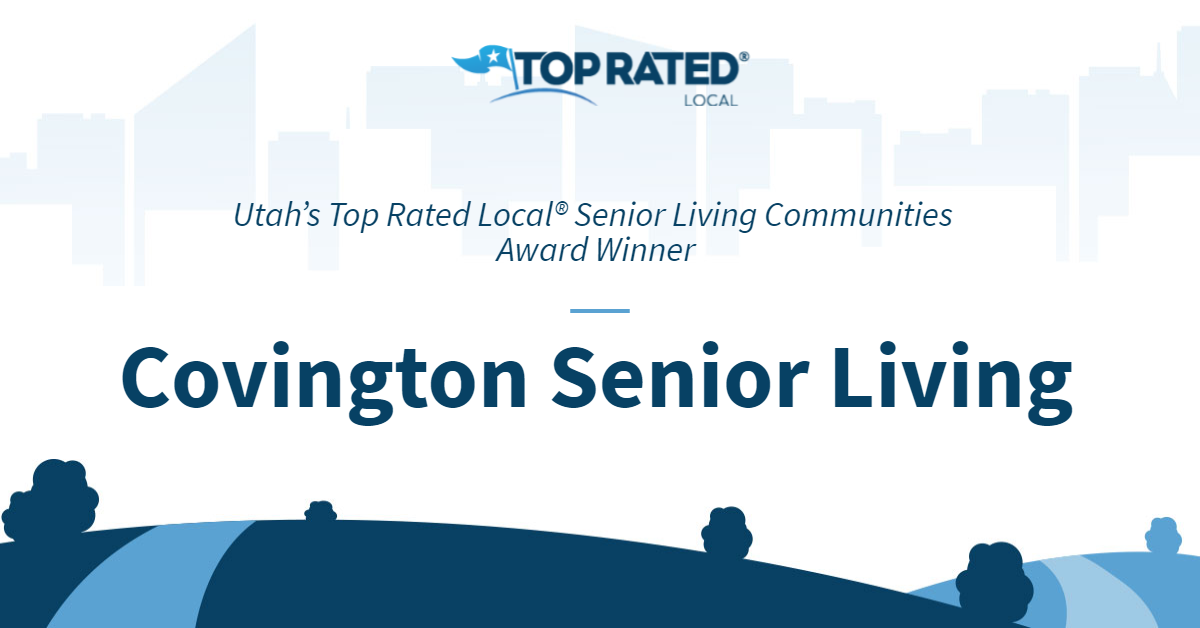 Utah's Top Rated Local® Senior Living Communities Award Winner: Covington Senior Living