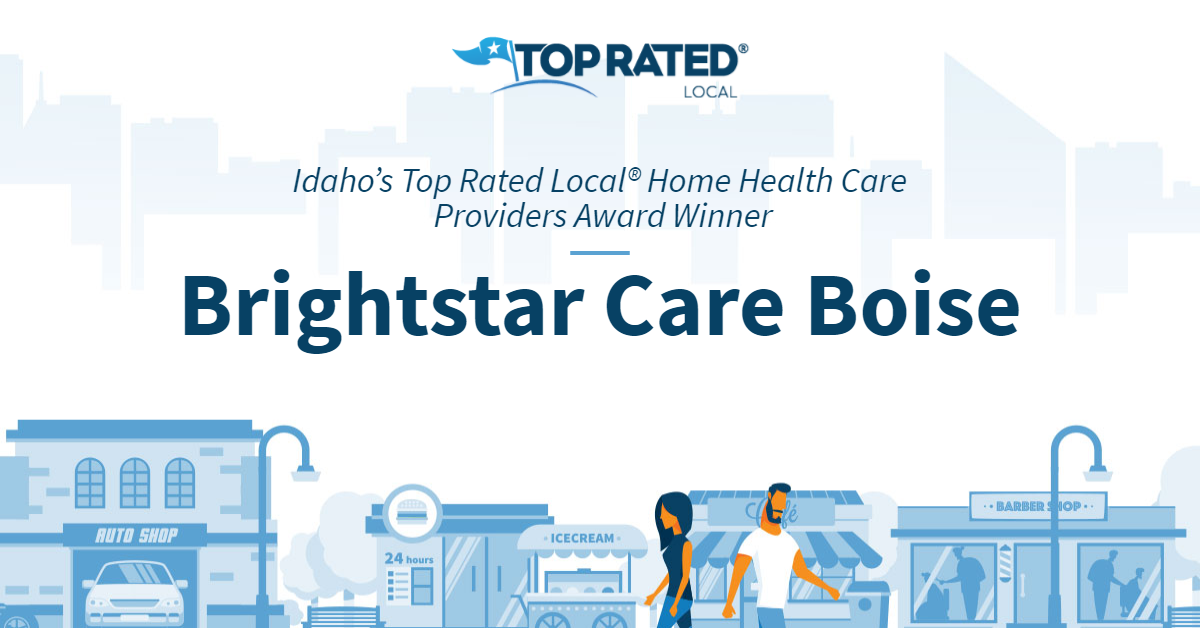 Idaho's Top Rated Local® Home Health Care Providers Award Winner: Brightstar Care Boise