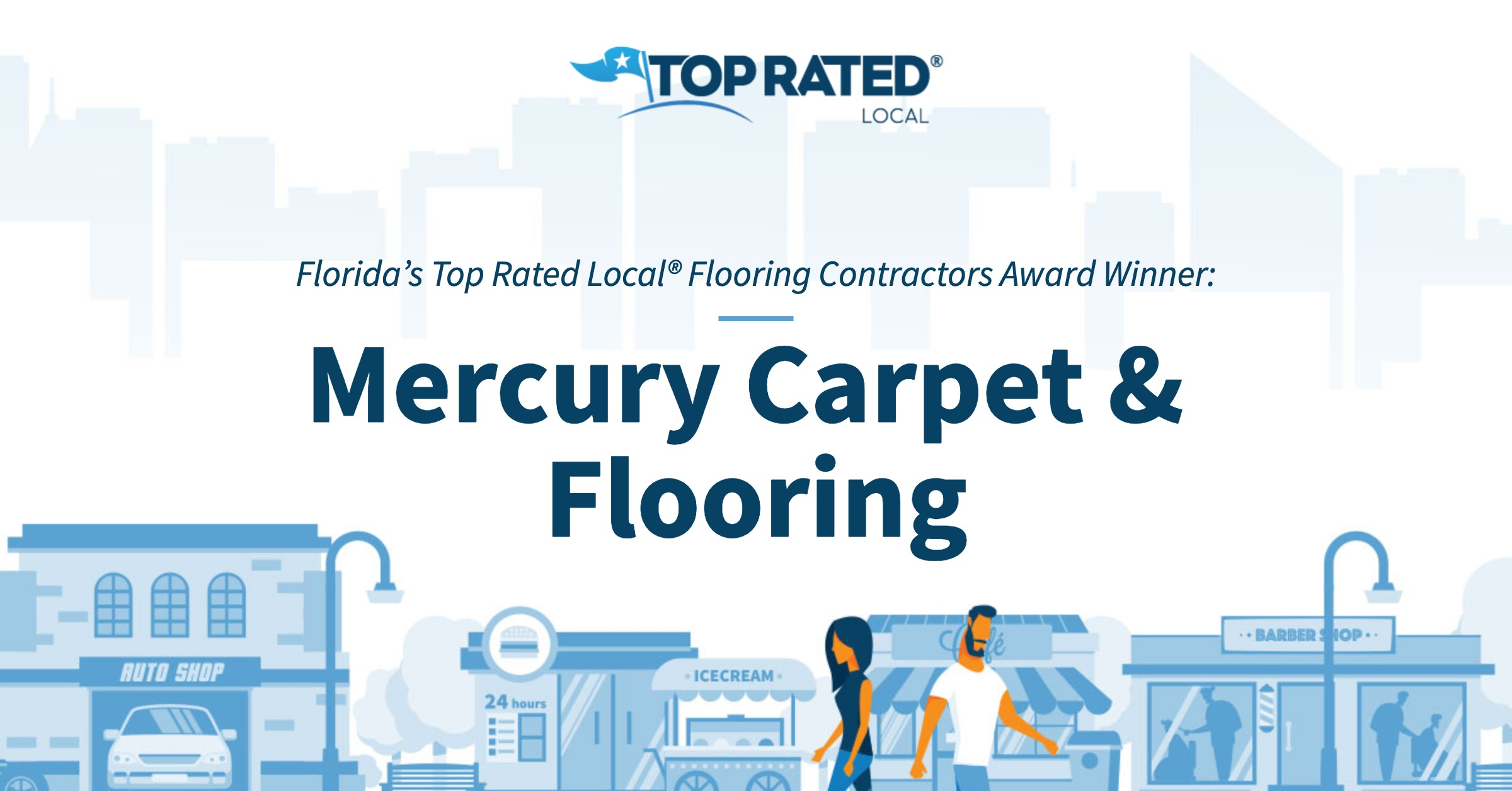 Florida's Top Rated Local® Flooring Contractors Award Winner: Mercury Carpet & Flooring