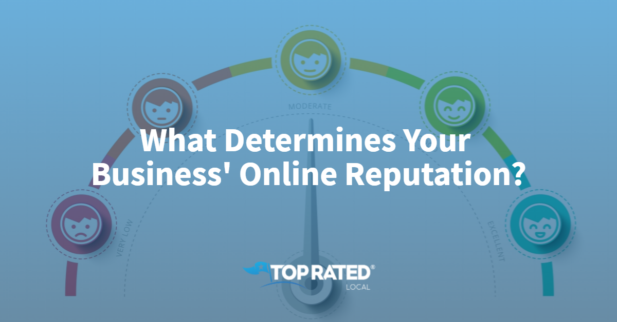 What Determines Your Business' Online Reputation