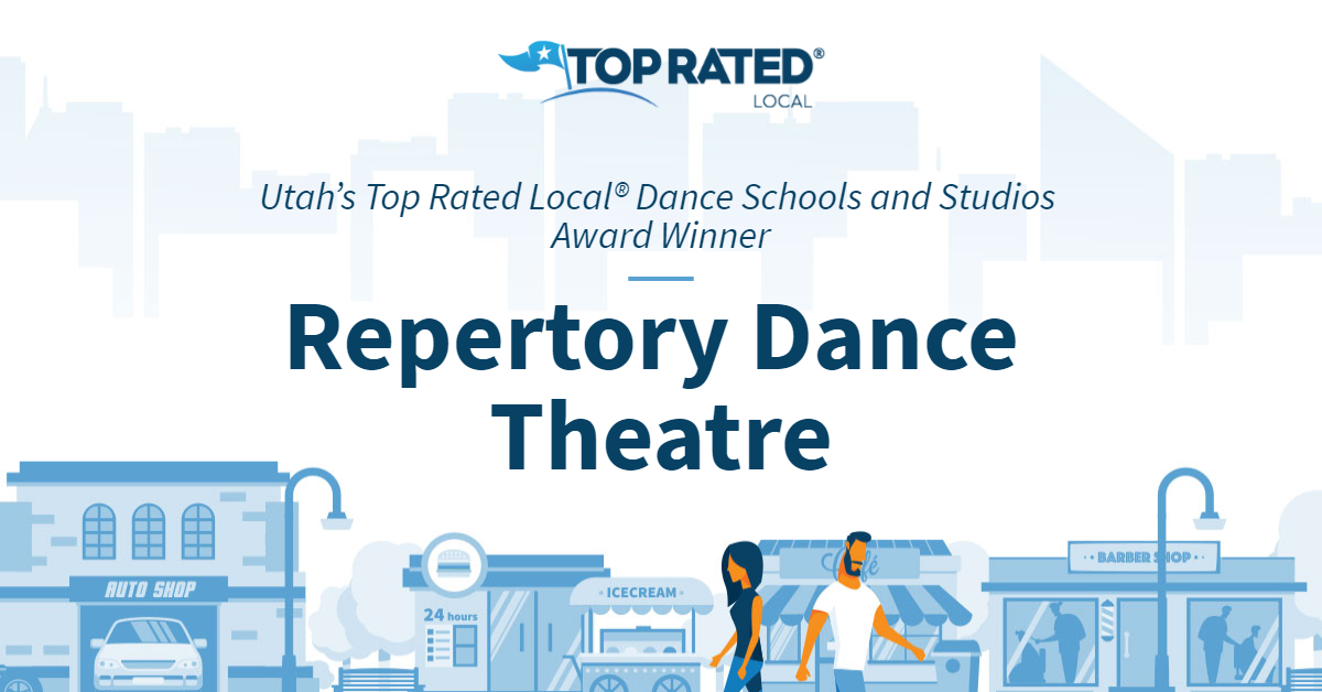 Utah's Top Rated Local® Dance Schools and Studios Award Winner: Repertory Dance Theatre