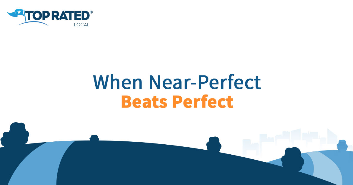 When Near-Perfect Beats Perfect
