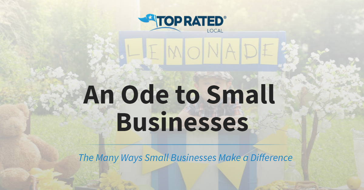An Ode to Small Businesses