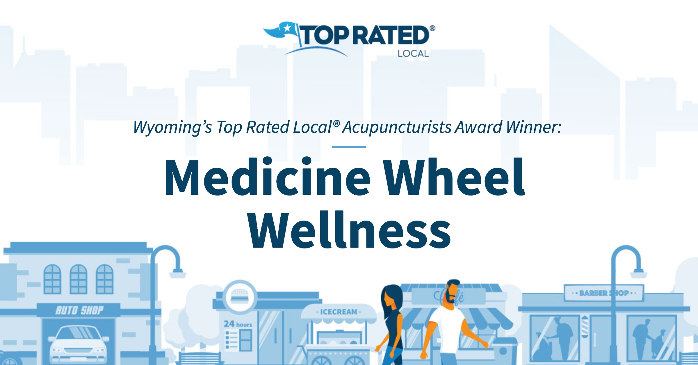 Wyoming's Top Rated Local® Acupuncturists Award Winner: Medicine Wheel Wellness