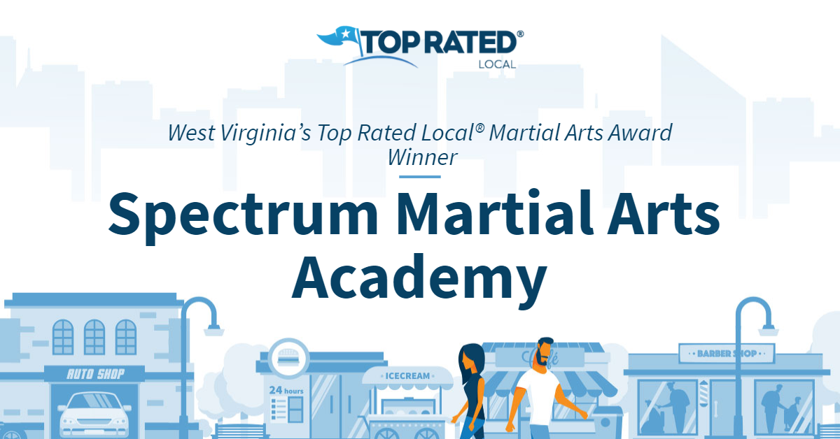 West Virginia's Top Rated Local® Martial Arts Award Winner: Spectrum Martial Arts Academy