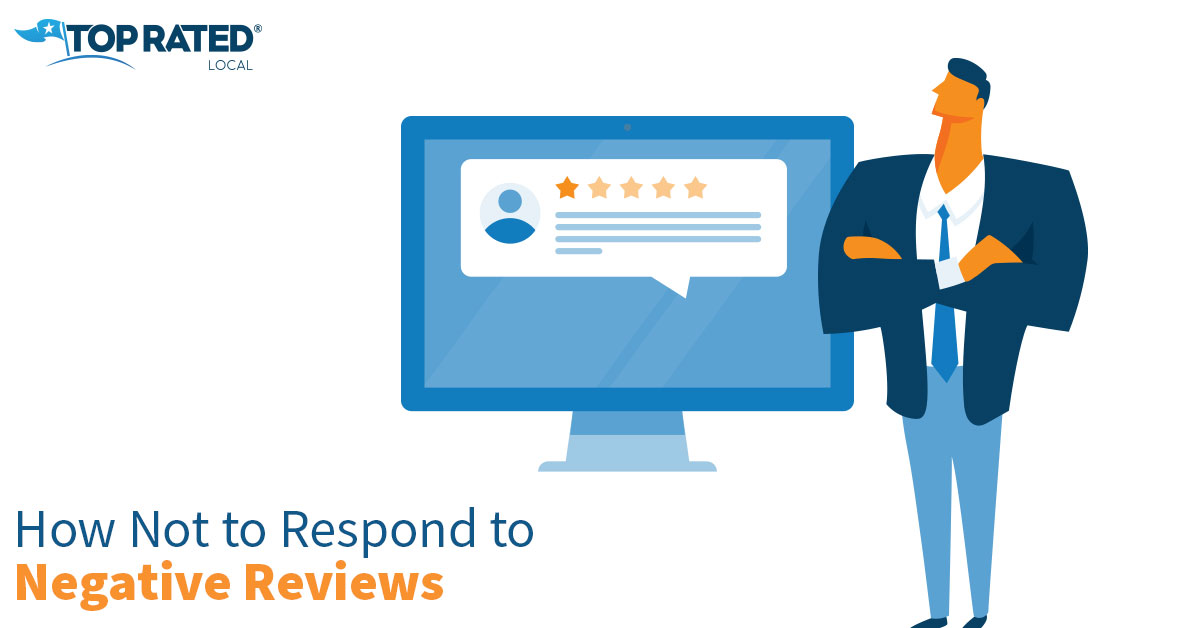 How Not to Respond to Negative Reviews