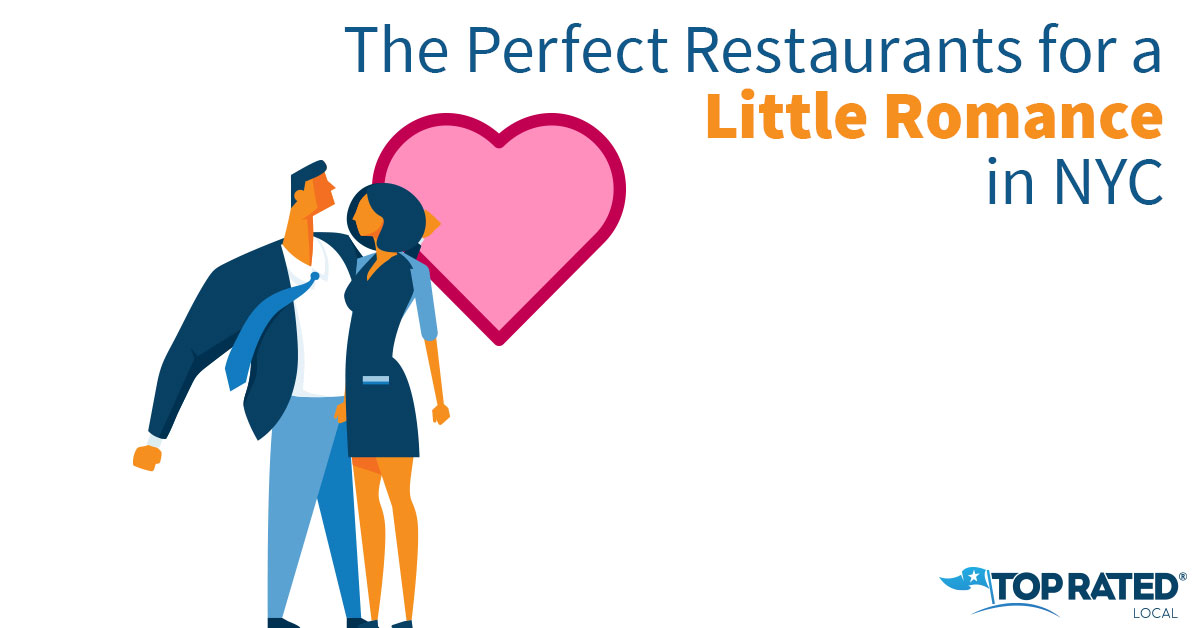 The Perfect Restaurants for a Little Romance in NYC