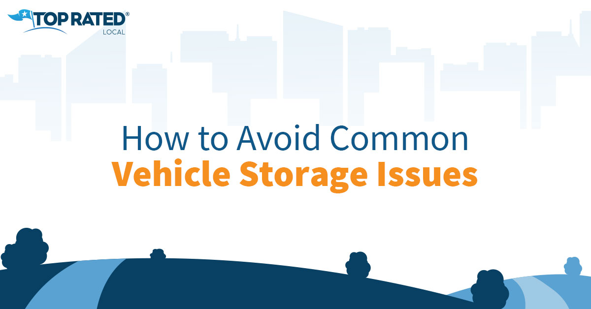How to Avoid Common Vehicle Storage Issues