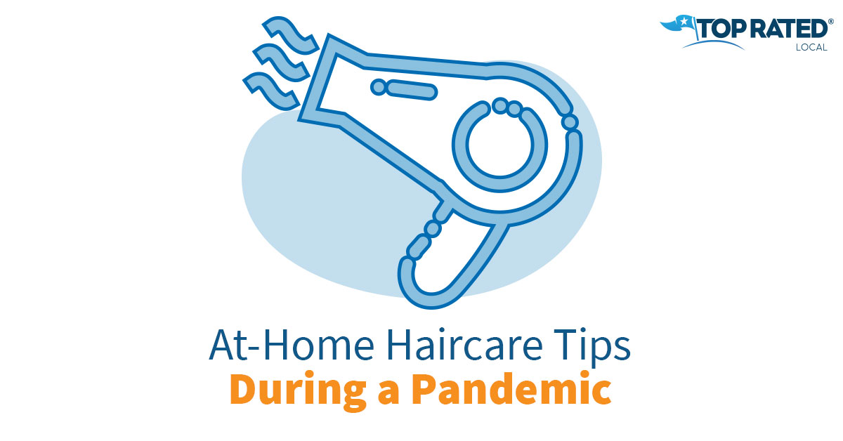 At-Home Hair Care Tips During a Pandemic