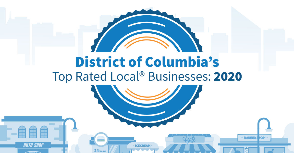 District of Columbia's Top Rated Local® Businesses: 2020