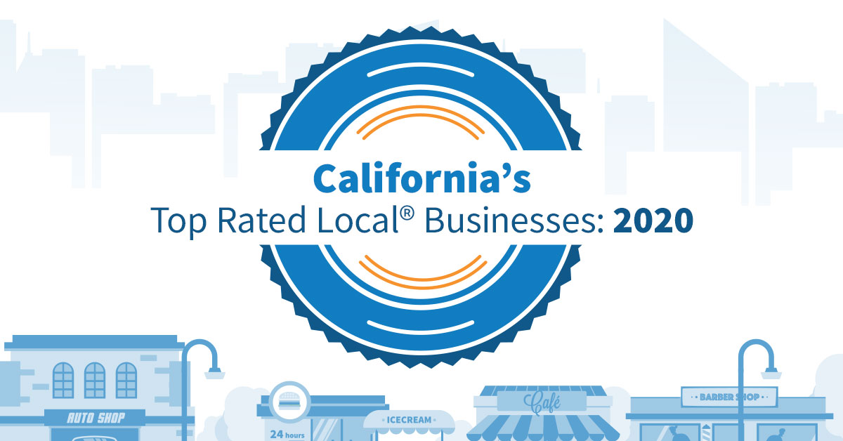 California's Top Rated Local® Businesses: 2020