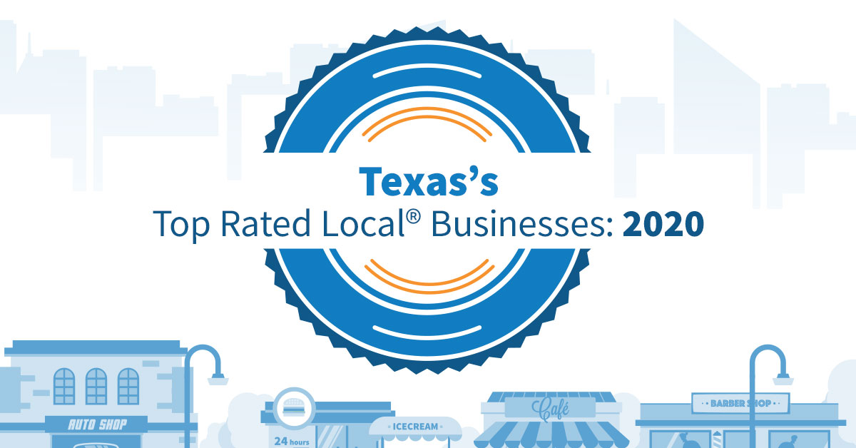 Texas's Top Rated Local® Businesses: 2020
