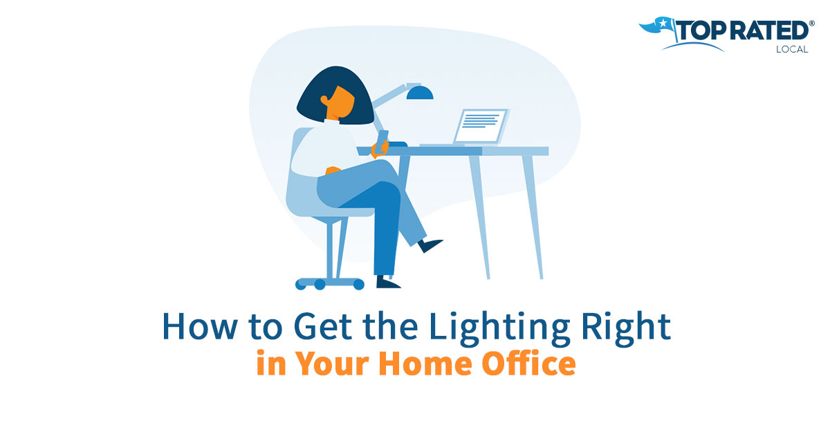 How to Get the Lighting Right in Your Home Office