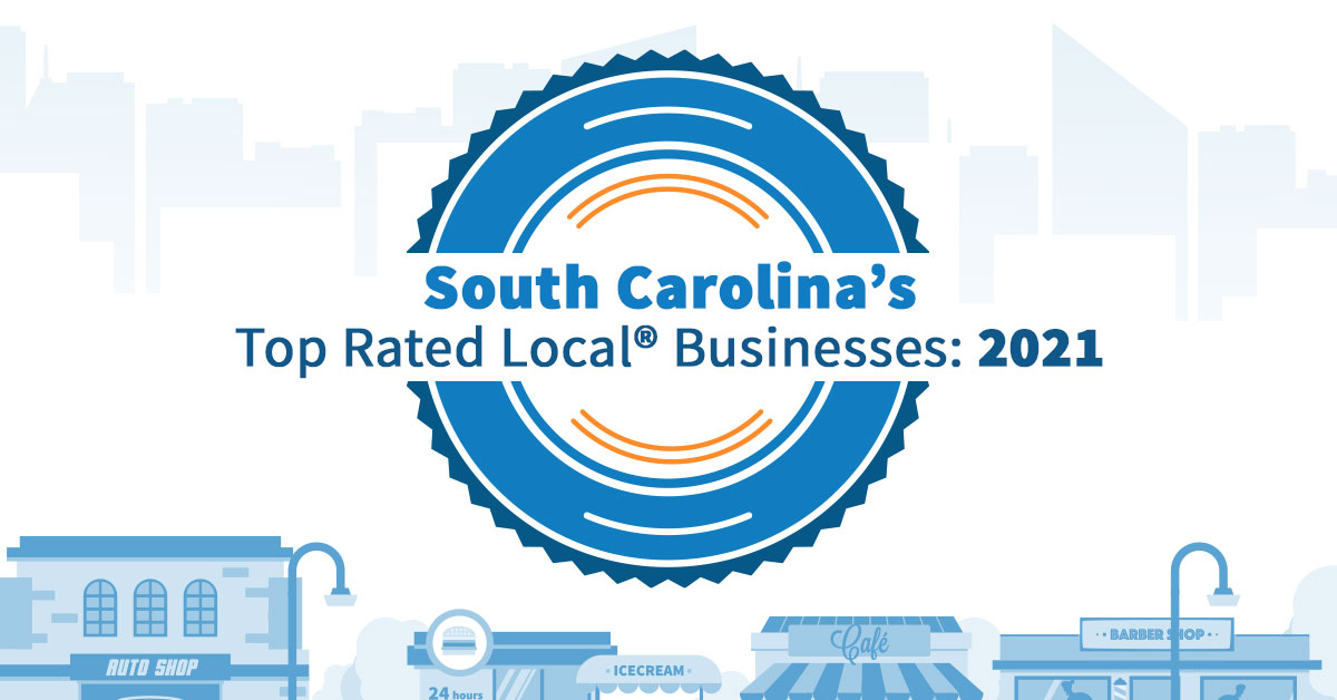 South Carolina's Top Rated Local® Businesses: 2021