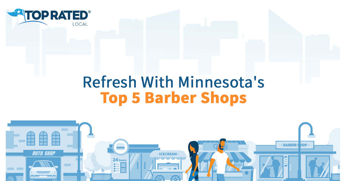 Refresh With Minnesota's Top 5 Barber Shops