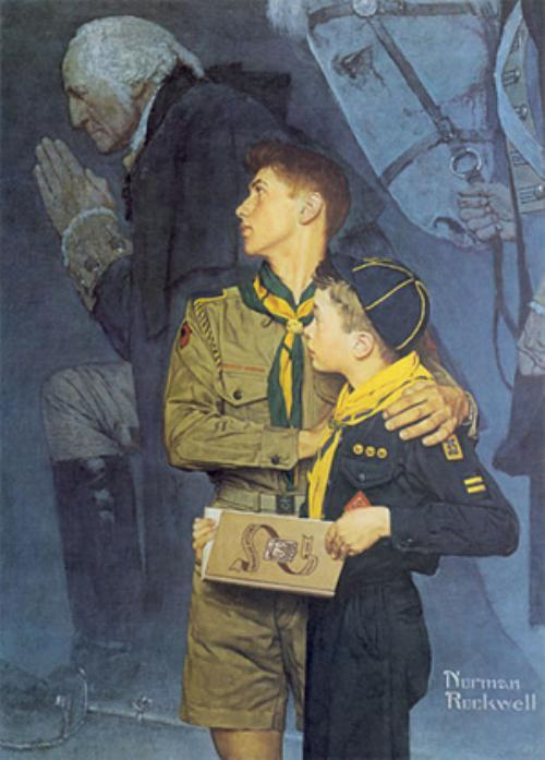 Our Heritage - Norman Rockwell 1948