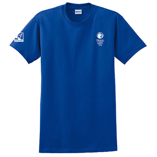 Adventurer's Blue Moisture Wicking T-shirt