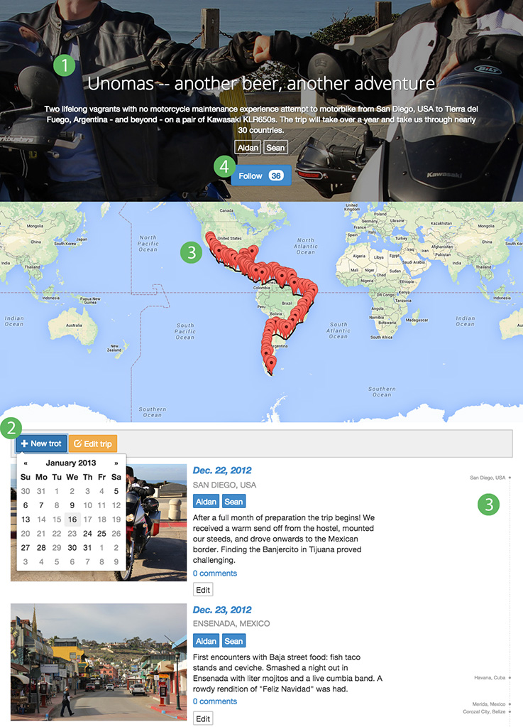 4 simple steps to create the best travel blogs on Trottin