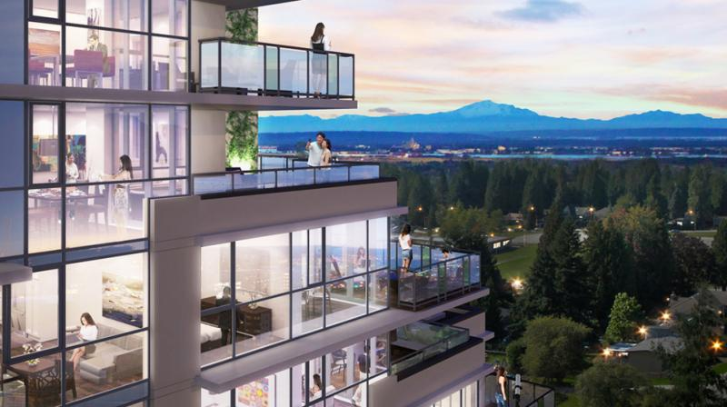 Bravo Condos at NB Cooney Rd FS Westminster Hwy, Richmond, British Columbia. Image 2