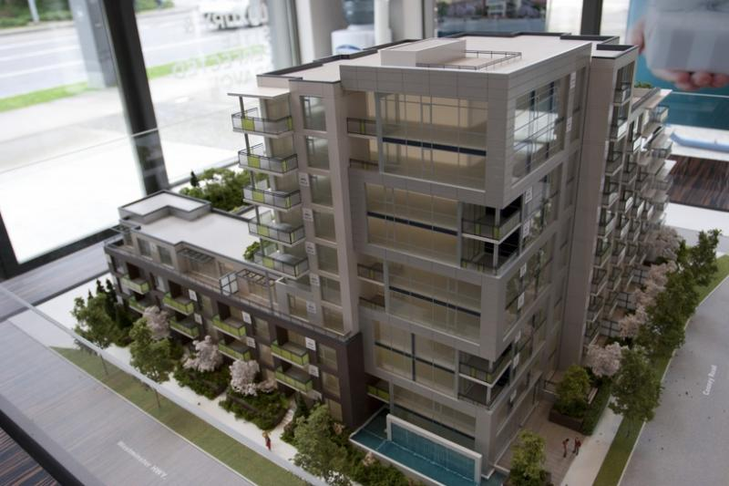 Bravo Condos at NB Cooney Rd FS Westminster Hwy, Richmond, British Columbia. Image 3