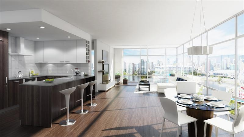 The Residences at West at 195 W 2nd Ave Vancouver, Vancouver, British Columbia. Image 2