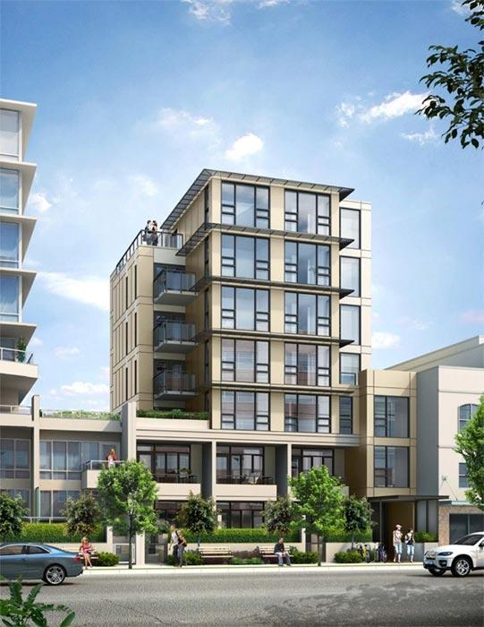 The Werks Condos at 555 W 7th Ave, Vancouver, British Columbia. Image 1