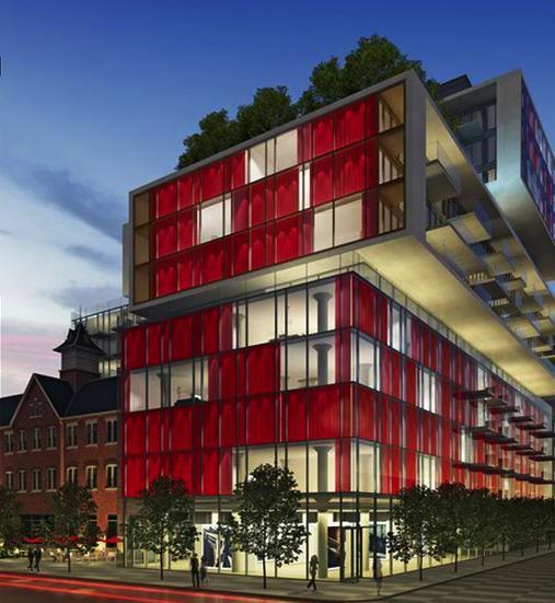 Fashion House at 560 King Street West, Toronto, Ontario. Image 5