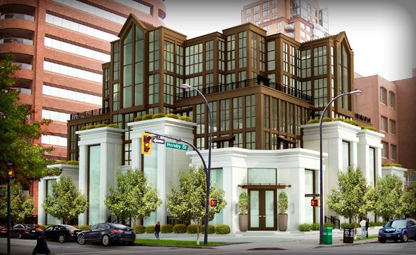 Artemisia at 1104 Hornby St, Vancouver, British Columbia. Image 1