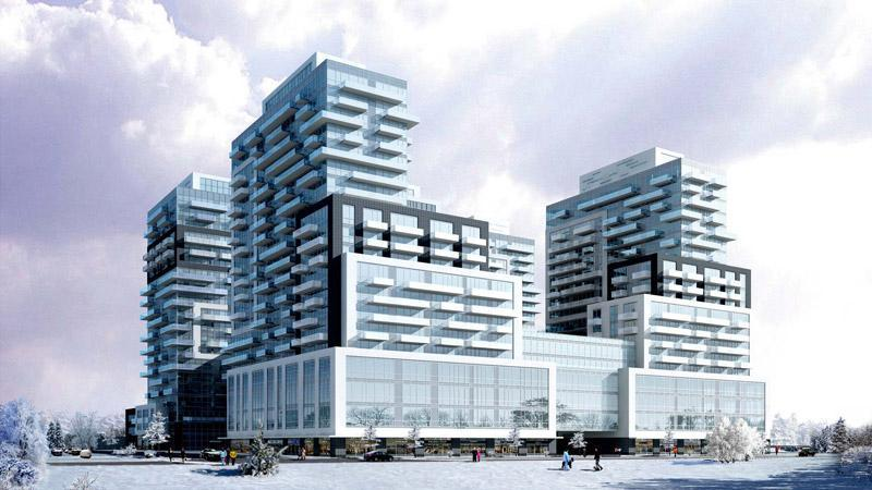 Paradigm Condos at Fairview Street and Brant Street, Burlington, Ontario. Image 3