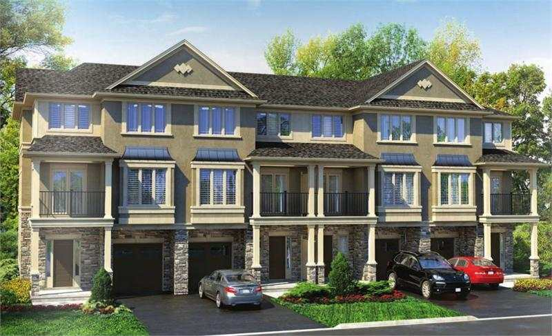 Harvest Bronte Town Residences at Dundas Street West & Colonel William Parkway, Oakville, Ontario. Image 1