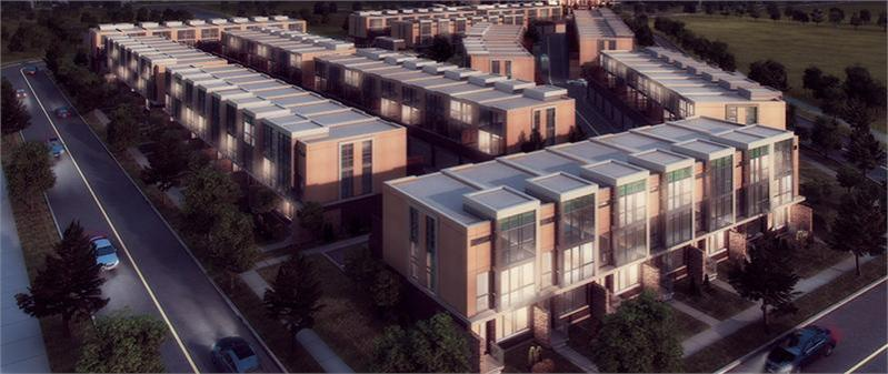The Marquee Townhomes at Hurontario Street & Eglinton Avenue West, Mississauga, Ontario. Image 1