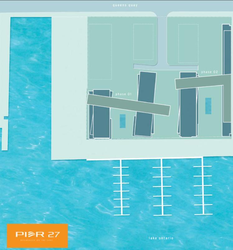 Pier 27 Residences On The Lake Phase 1 at 25 Queens Quay E, Toronto, Ontario. Image 9