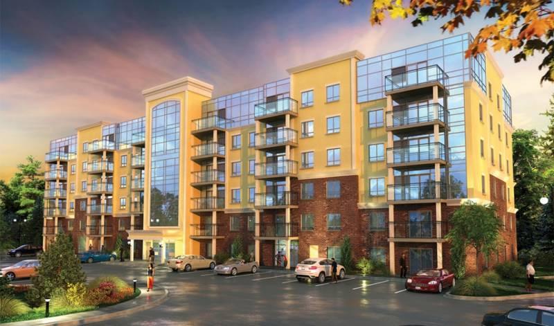 The Ambassador Condominiums at Costigan Rd, Milton, Ontario. Image 2