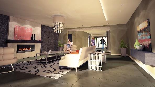 The Ambassador Condominiums at Costigan Rd, Milton, Ontario. Image 3