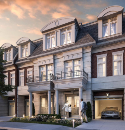 Manors of Mineola at 1640 Crestview Avenue, Mississauga, Ontario. Image 2