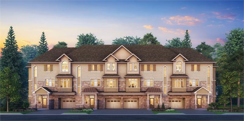 Bronte Park Town Manors at 3113 Upper Middle Rd, Oakville, Ontario. Image 1