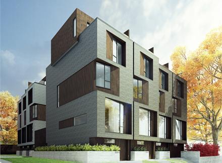 CORE Modern Homes at 538 Eglinton Avenue East, Toronto, Ontario. Image 1
