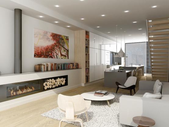 CORE Modern Homes at 538 Eglinton Avenue East, Toronto, Ontario. Image 3