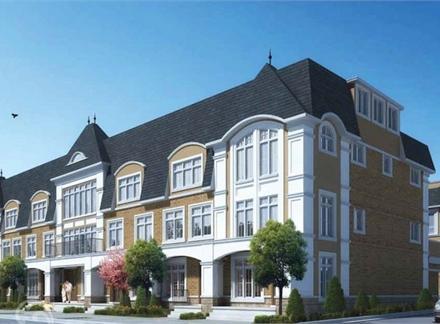 Evian Townes on Elizabeth at 507 Elizabeth Street, Burlington, Ontario. Image 1