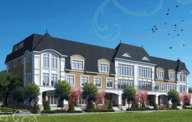 Evian Townes on Elizabeth at 507 Elizabeth Street, Burlington, Ontario. Image 2